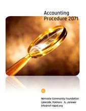 Accounting Procedure 2071